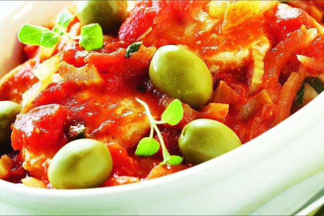 Fiskeboller i tomatsaus Oppskrift