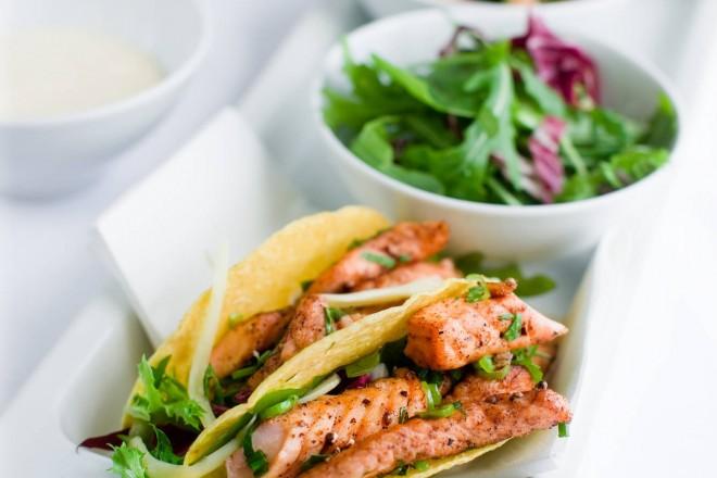 Taco med laks à la Marit Bjørgen Oppskrift