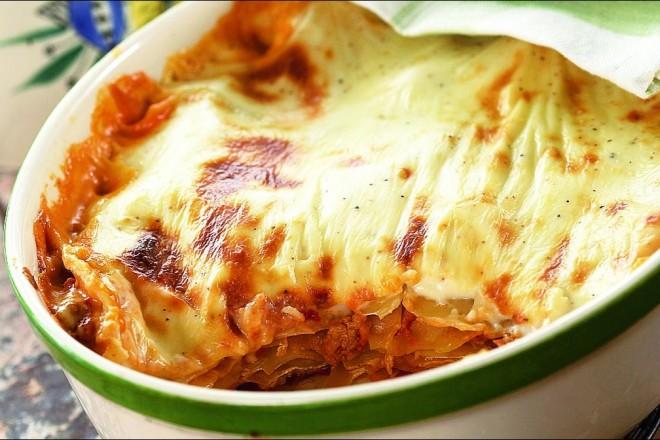 Verdens beste lasagne Oppskrift