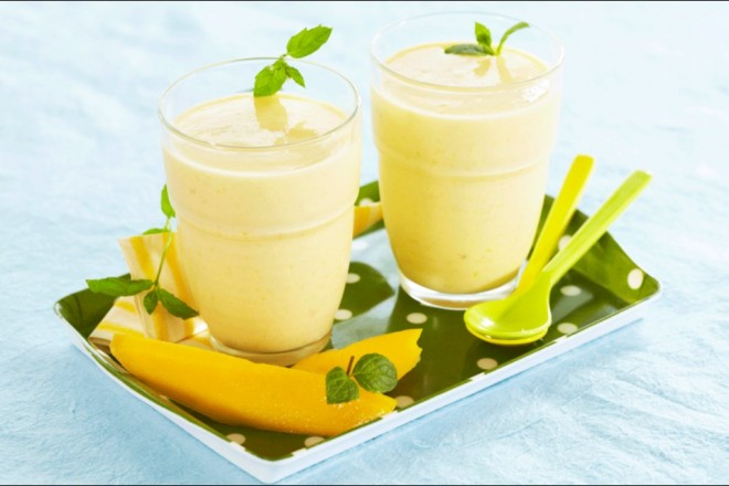Mango smoothie Oppskrift