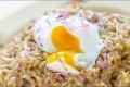 Sopprisotto med posjert egg Oppskrift