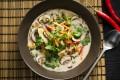 Asiatisk grønnsaksuppe Oppskrift