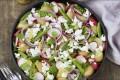 Potetsalat med fetaost og reddiker Oppskrift