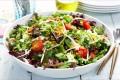 Sprø salat med mathvete Oppskrift