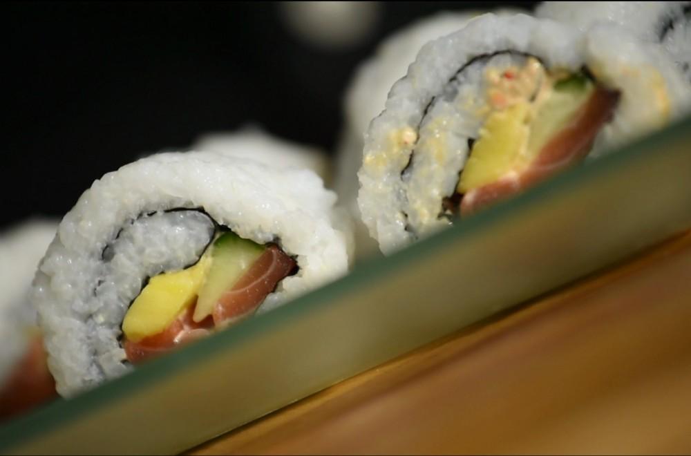 Sushi maki med chili Oppskrift