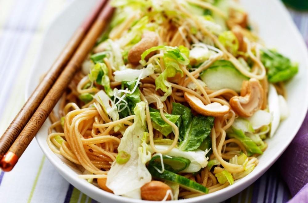 Asiatisk inspirert salat Oppskrift
