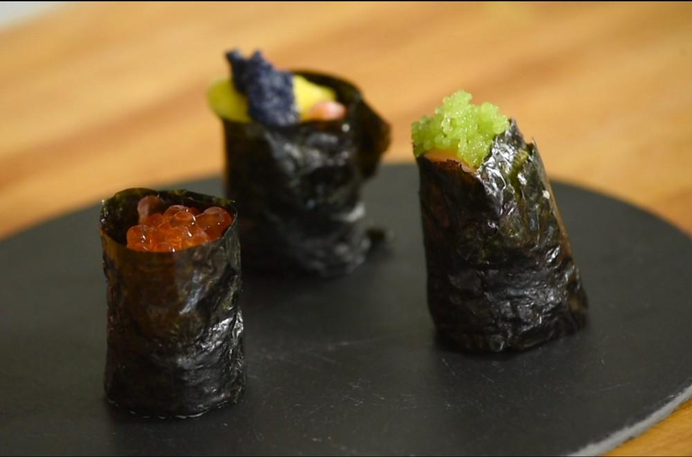 Gunkan sushi Oppskrift