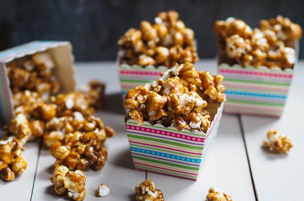 Ida Grans popcorn med karamell Oppskrift