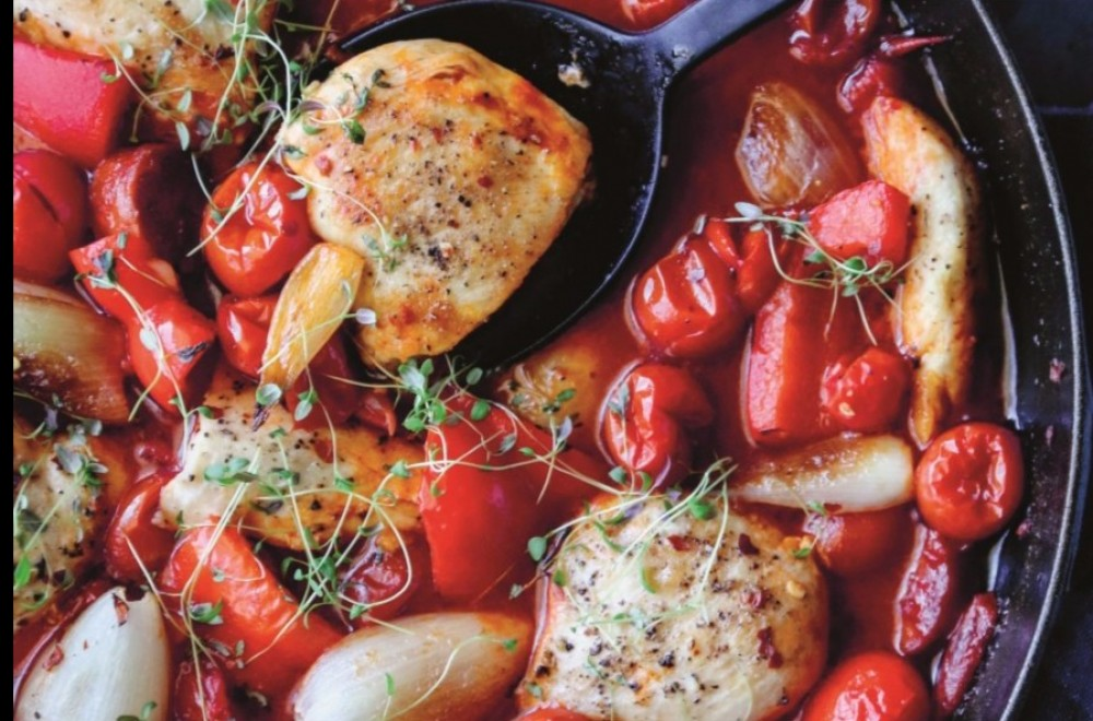 Kyllinggryte med chorizo Oppskrift