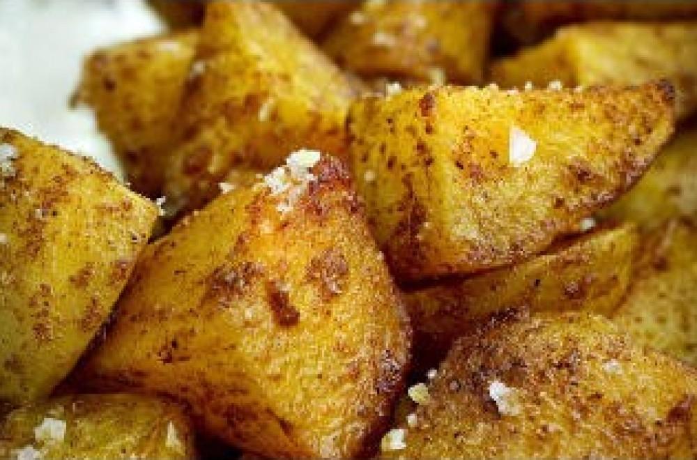Indiske poteter Oppskrift
