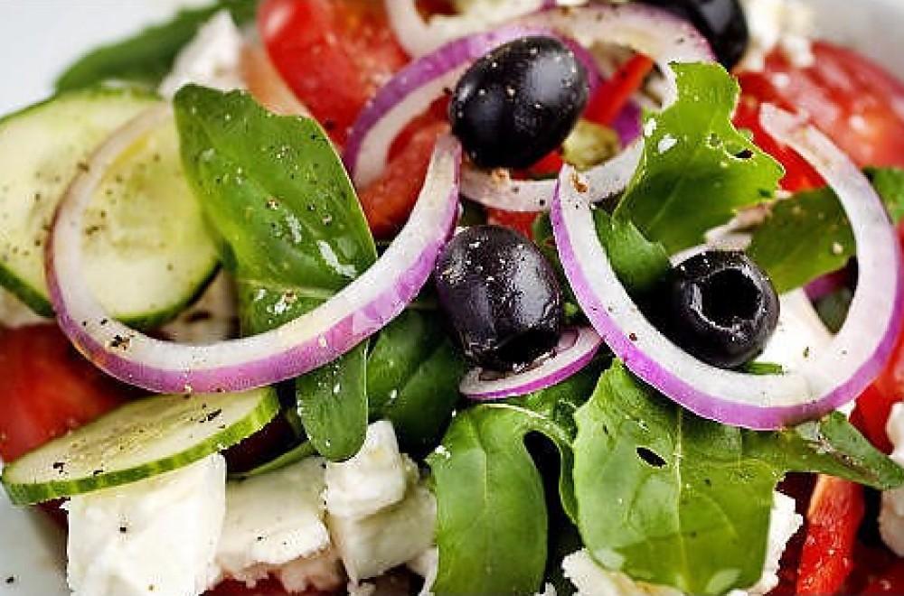 Gresk salat Oppskrift