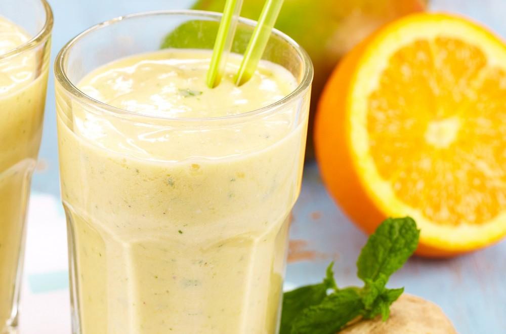 Frisk vitaminsmoothie Oppskrift